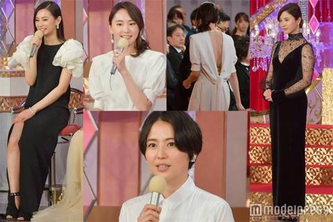 日本アカデミー賞で女優さんたちがエロ衣装の競演!吉高由里子の横乳が優勝w