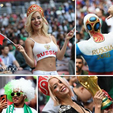 【ロシアW杯】世界中の美女サポーターが集結!さながら「プチ・ミス・ワールド」写真館