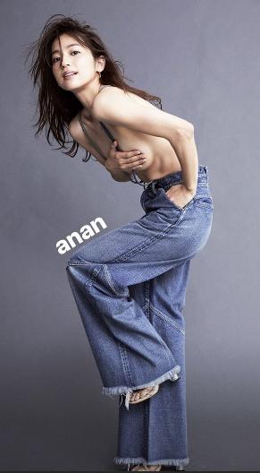 中村アンが『an・an』で腕ブラヌード披露(インスタ公開含む)も…筋肉質なボディは男受け良くない!?