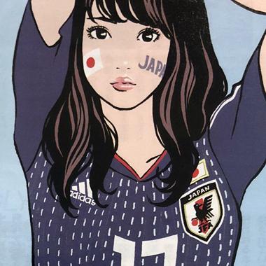 【ロシアW杯】世界中の美女サポーターが集結!さながら「プチ・ミス・ワールド」写真館Vol.3