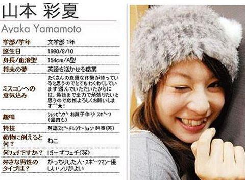 ミス東洋大2009グランプリの山本彩夏が木内美保でAVデビュー?